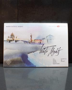 Akvarelový blok White Nights A4