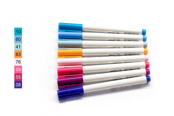 Fashion - Sada akvarelových fix Marvy Uchida Artist Brush