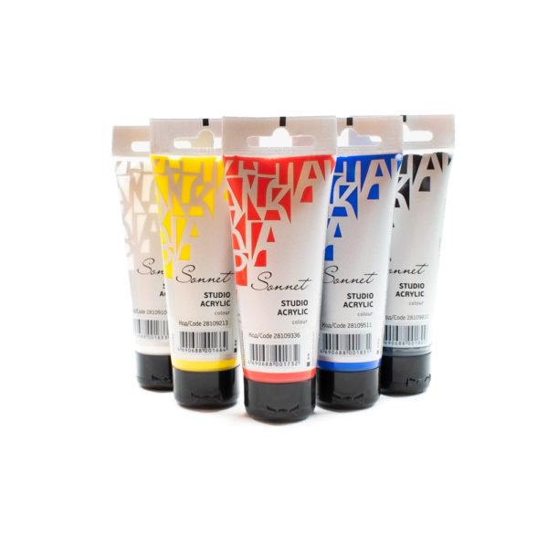 Sada akrylových barev