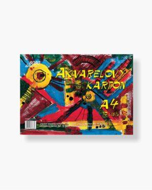 Akvarelový karton BOBO A4