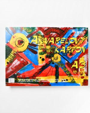 Akvarelový karton A3