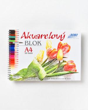 Akvarelový blok BOBO A4