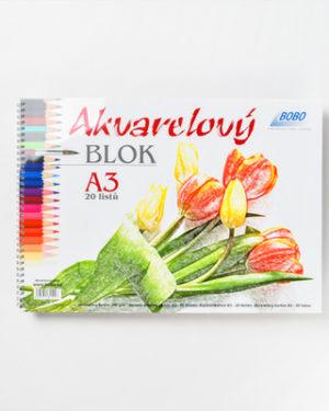 Akvarelový blok BOBO A3